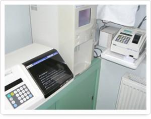 血液検査コーナー